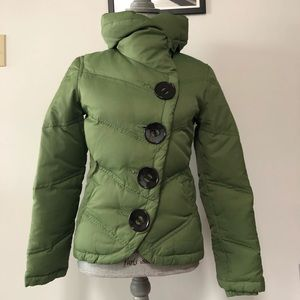 Soia and Kyo down puffer jacket cropped length